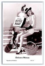 Dolores Moran Swiftsure Postcard yr 2000 modern print 334/14 glam photo scooter