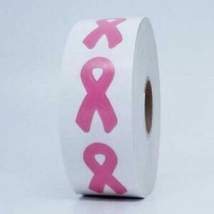 Lot of 50 Tanning Bed Body Stickers Pink Ribbon Breast Cancer Awareness Tattoo