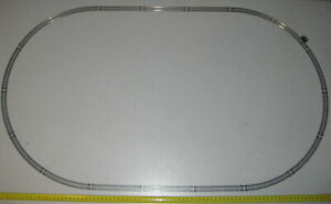 "MODEL POWER ""N"" SCALE SET OF OVAL TRAIN TRACK 35""x20"" W/ TERMINAL TRACK (NEW)"