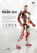 1:12 Action Figure Iron Man Diecast Alloy MK42 & Sofa Set Comicave SDCC2016 Toys