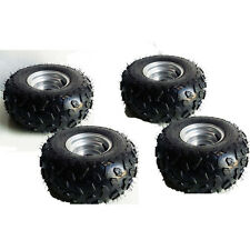 4X Go-kart ATV Tire with Wheel Assembly 145/70-6 Rim Go kart Mini Bike zu01