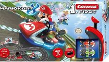 NEW MARIO KART 8 RC TRACK RACING SYSTEM - MARIO TOAD FIGURE HOT Gift