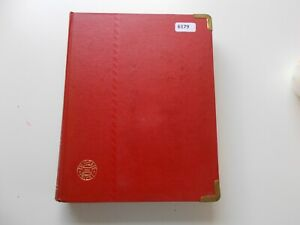 Netherlands & colonies: Mint & used collection in old stockbook. See pics below.