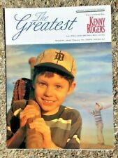 GIFTABL BASEBALL sheet music THE GREATEST Kenny Rogers 1999 country GUITAR piano