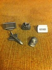 MONOPOLY Here and Now 5 Game Tokens Altoids Space Shuttle dog tv hat Replacement