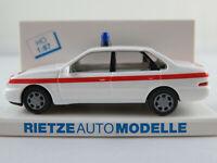 """Rietze 50631 Ford Scorpio Limousine (1994) """"Die Johanniter"""" 1:87/H0 NEU/OVP"""