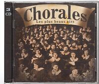 Chorales - Les Plus Beaux Airs CD ALBUM Compilation 3 cd 56 titres (0350)