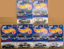 (8) Hot Wheels 1:64 Scale Various Police/First Responders Vehicles Lot