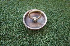 More details for rare antique solid brass sink plug