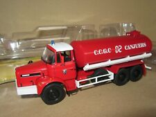 146P IXO Renault GBH280 6X6 CCGC 02 Canjuers Citerne Pompiers 1:43 + Boite