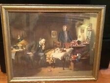 THE DOCTOR Print Picture SIR LUKE FILDES Victorian English Scene