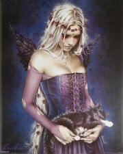 VICTORIA FRANCES CAT PINUP POSTER (24 BY 26 INCHES) GOTHIC ANGEL NEW ART