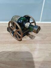 Retro vintage Courvoisier Miniature On Cart - bottle empty