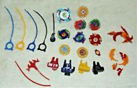 Hasbro Tomy 2002 Lot of BEYBLADE Spinners Ripcords Launchers Mix FREE SHIPPING