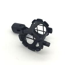 Black Shock Mount Shotgun Microphone Suspension Bracket for Diaphragm Applied