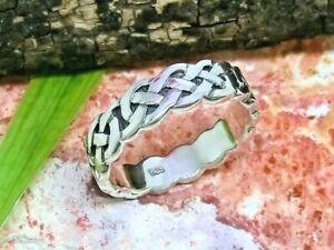 Keltischer Knoten Bandring 925 Silber Ring Kelten Keltenschmuck