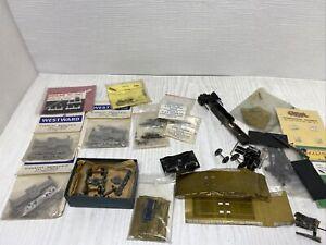 oo gauge Kitbuilt ,kit Making Items Romford Wheels,bogies ,lots Of Items