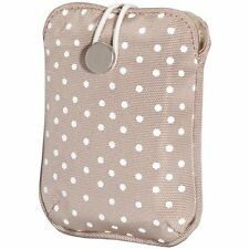 Fujifilm Compact Camera Slip Case (Tan Polka Dot) for A, J, T & XP Series