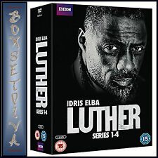 LUTHER - COMPLETE BBC SERIES 1 2 3 & 4  *BRAND NEW DVD BOXSET***