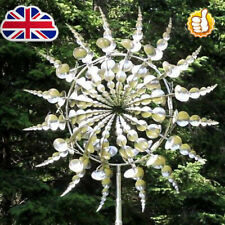 More details for wind powered kinetic sculpture and magical metal windmill kz