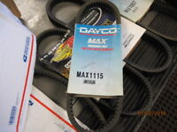 NEW NOS Dayco Max1115 Snowmobile Drive Belt