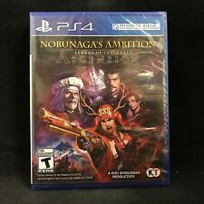 Nobunaga's Ambition: Sphere of Influence - Ascension (Sony PlayStation 4) NEW