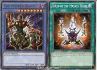 Yugioh The Masked Beast (DPBC-EN031) + Curse of the Masked Beast - Set Lot