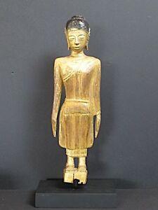 Antique Buddha Wooden, - Laos