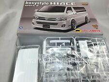 Aoshima 000717 1/24 VIP American #12 boxystyle Hi Ace Super GL `10 Model Kit