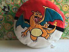 Pokemon Center Plush Pillow Charizard Big Pokeball Figure Exclusive animal go