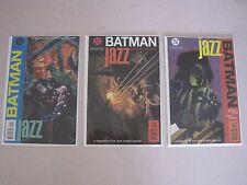 Batman Legends of the Dark Knight JAZZ 1995 Mini Series #1 2 3 Complete Set