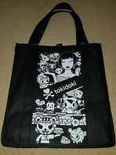 SDCC 2016 Comic Con Tokidoki Reusable tote bag in Black and White New