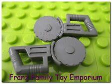 LEGO Minifig Tool x2 Dark Blue Gray Saw Circular Blade Star Wars 7252 7751 7962