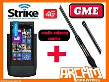 STRIKE NOKIA LUMIA 1020 CAR CRADLE PRO - BUILT IN CHARGER + GME 7DBI ANTENNA