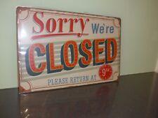 Vintage Retro Tin Metal Sign Poster Plaque Bar Pub Club Wall Home Decor 30x20cm Strike