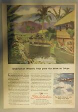 Studebaker War Ad: Studebaker Weasals Help Pace The Drive to Tokyo 1945