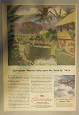 Studebaker War Anzeige: Studebaker Weasals Hilfe Pace The Laufwerk zu Tokio 1945