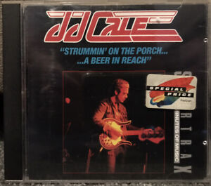 JJ CALE Strummin' On The Porch... ...A Beer In Reach CD 1990 VGC FAST FREE POST