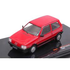 Fiat uno Turbo ie 1984 Red 1 43 Ixo Model Auto Stradali Die cast Modellino