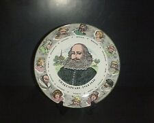 Royal Doulton William Shakespeare Cabinet Plate