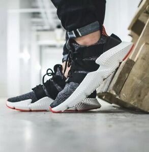 Adidas Prophere Athletic Shoes Core Black / Solar Red CQ3022 New In Box Size 8.5