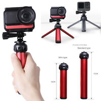 For GoPro Hero 9 Insta360 Action Camera Alloy Tripod Desktop Stand Selfie Stick