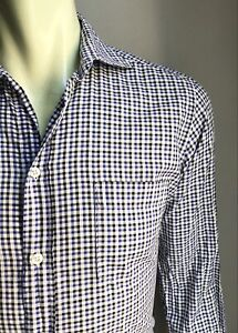 Hartford Shirt, Rutledge Plaid, Small, Excellent Condition
