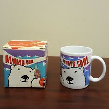 1993 Coca-Cola Company Coke Coffee Mug Always Cool Polar Bear