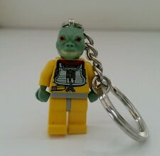 LEGO Star Wars Rebel Bossk MiniFig Keyring / Keychain (New Without Tags or Box)