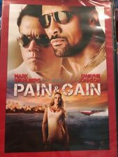 DVD PAIN AND GAIN MARK WAHLBERG AND DEWAYNE JOHNSON NEW IN PACKAGE