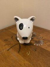 Vintage Lonley Bull Terrier Aka Spuds Mackenzie Terrier Mini Piggy Bank