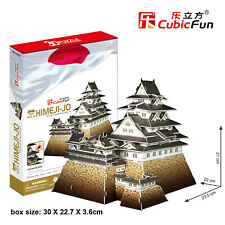 CubicFun 3D Puzzle MC099H HimeJi-Jo,World Famous Building Jigsaws,89 Pieces