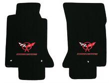 Lloyd Mats ULTIMAT Front Floor Mats 1997 to 2004 C5 Corvette *RED Double Logo*