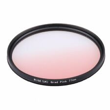 77mm Graduated Pink Guadient Grad Pink Color Lens Filter for All Digital Camera